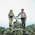 篭の登山(長野県)